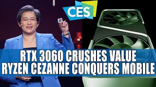RTX 3060 Crushes Value & Performance | AMD Conquers Mobile with Ryzen Zen 3 Cezanne