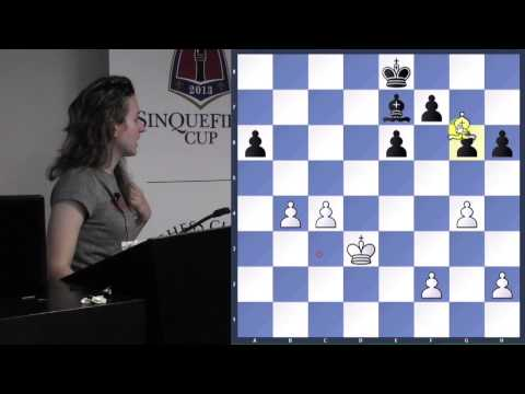 Strategic Endgame Ideas - IM Irina Krush - 2013.10.17