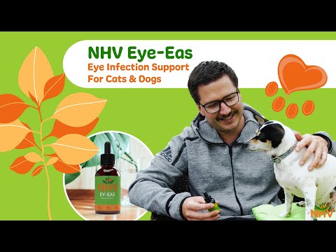 NHV Ey-Eas: Eye Infection Support For Cats & Dogs