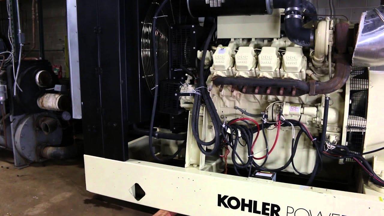 USED KOHLER DETROIT DIESEL GENERATOR SET FOR SALE - YouTube