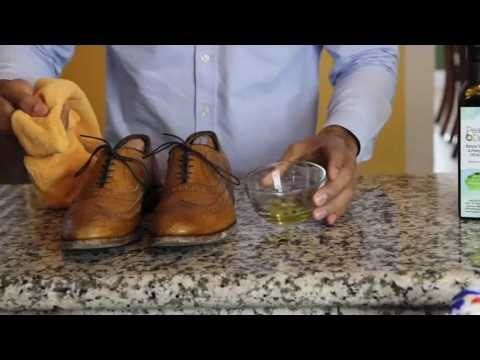 Shine Your Shoes With Olive Oil |  bjorndal shoes