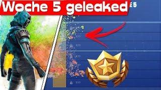 WOCHE 5 CHALLENGES *GELEAKED*! | Fortnite Season 7 Woche 5 Challenges Leak