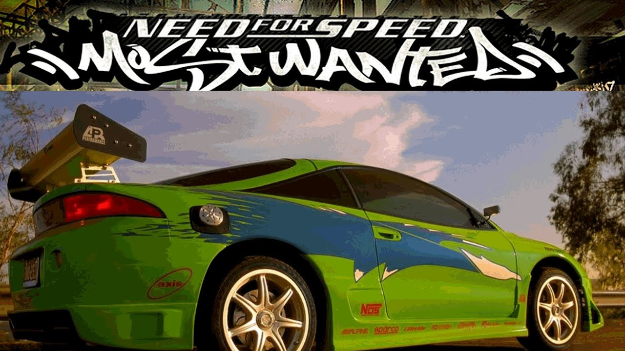 need for speed most wanted 2005 mitsubishi eclipse fast furious