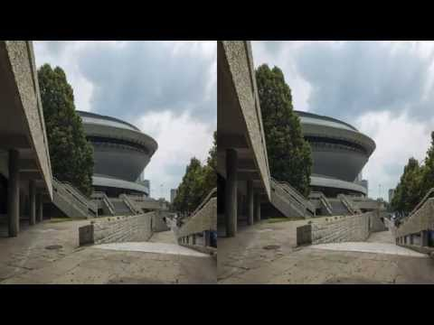 3D 4K Timelapse Ultra HD TV (UHD)