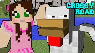 Minecraft: CROSSY ROAD! (CAN YOU MAKE IT ACROSS?!) Mini-Game