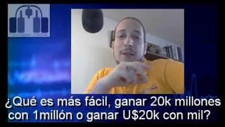 ¿Qué es más fácil llevar a mil millones a 20k millones o llevar mil dólares a 20mil?