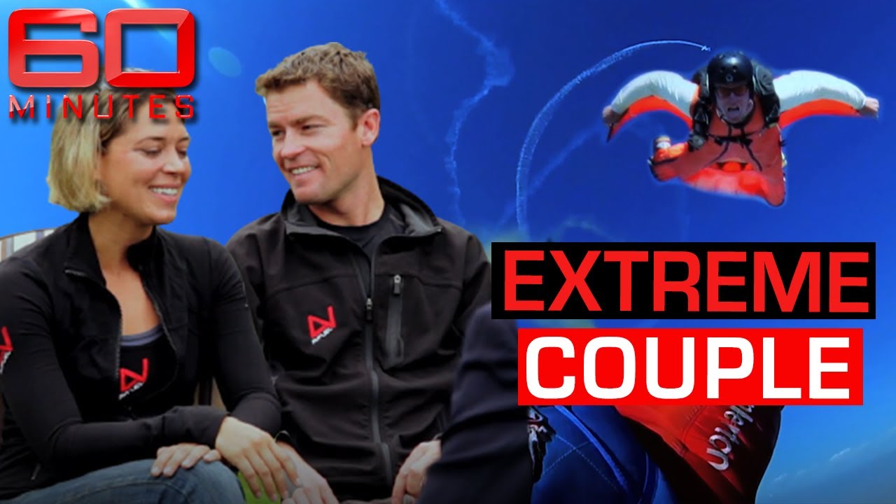 The extreme stunting couple taking their relationship to new heights | 60 Minutes Australia