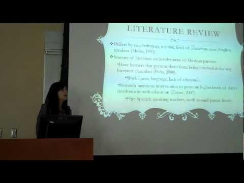 McNair Achievement Program 2012 Research Symposium- Rosalinda Godinez