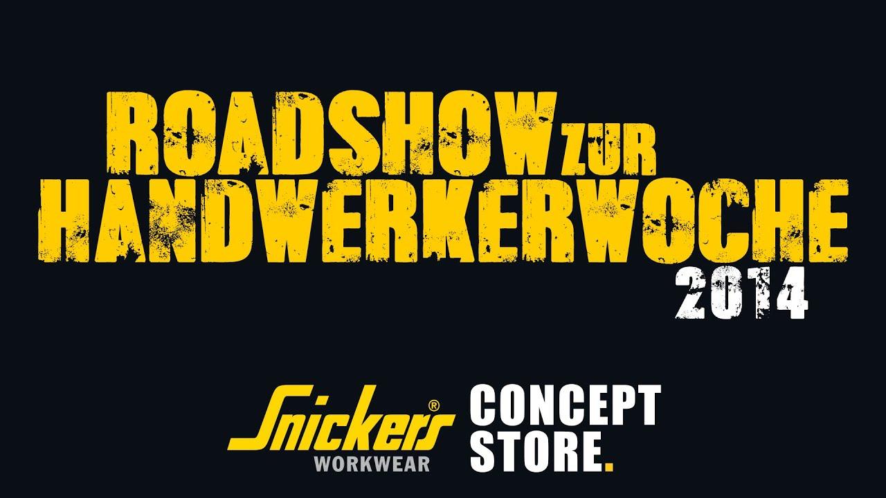 Snickers Concept Store Kaltenkirchen Handwerkerwoche 2014 - YouTube