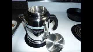 Yosemite Percolator, Stainless Steel, 8-Cup ; Coffee For Percolator, Percolator Coffee Pot
