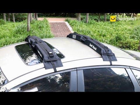 TIROL Car Soft Frame Foldable Luggage Rack - Gearbest.com