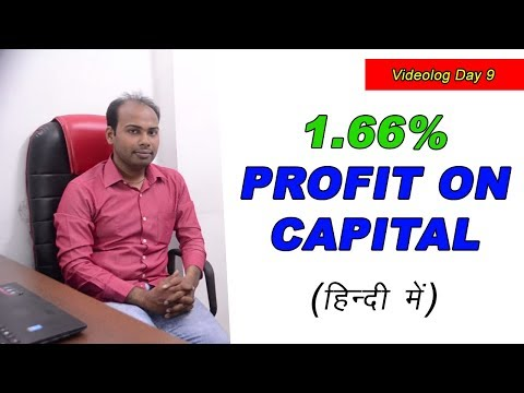 16.57% Loss to 1.66% Profit on Capital in Intraday Trading   Videolog Day 9