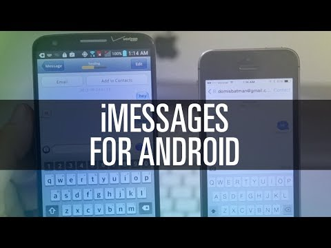 How To Get iMessages on Android - YouTube