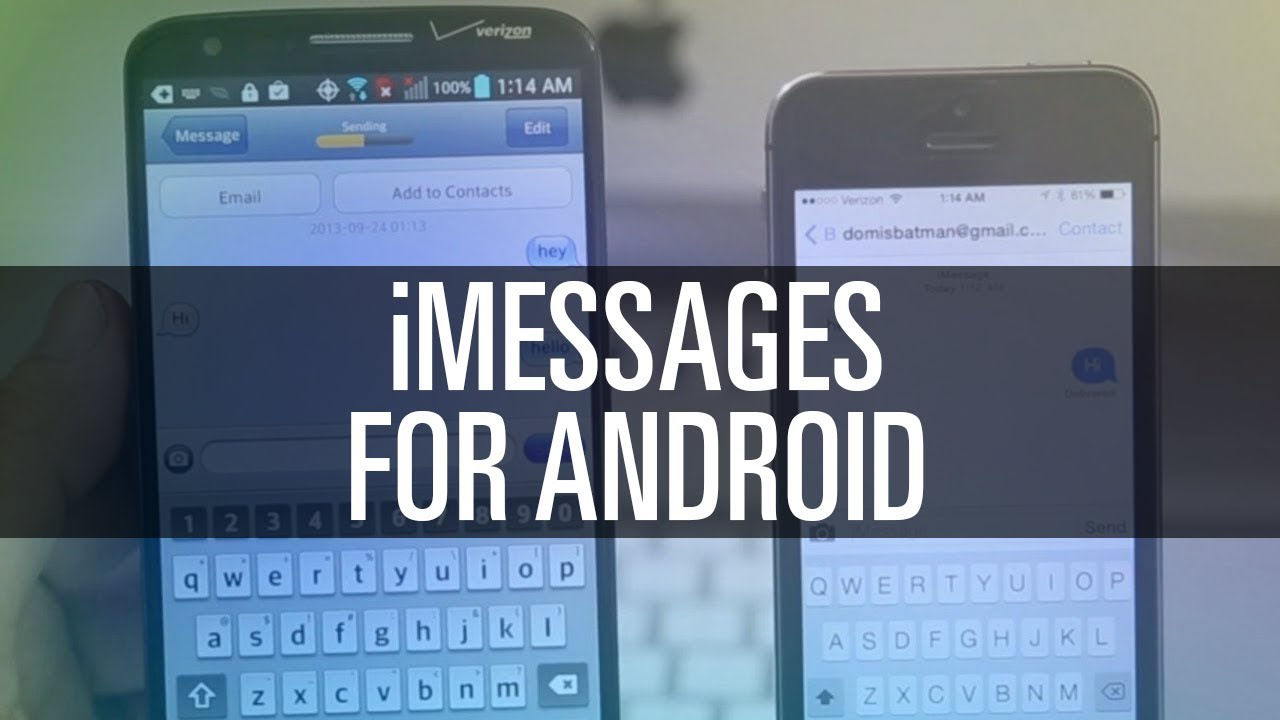 How To Get iMessages on Android