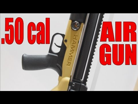 A 50 Cal. Airgun With Polycase Bullets! | The Umarex HAMMER