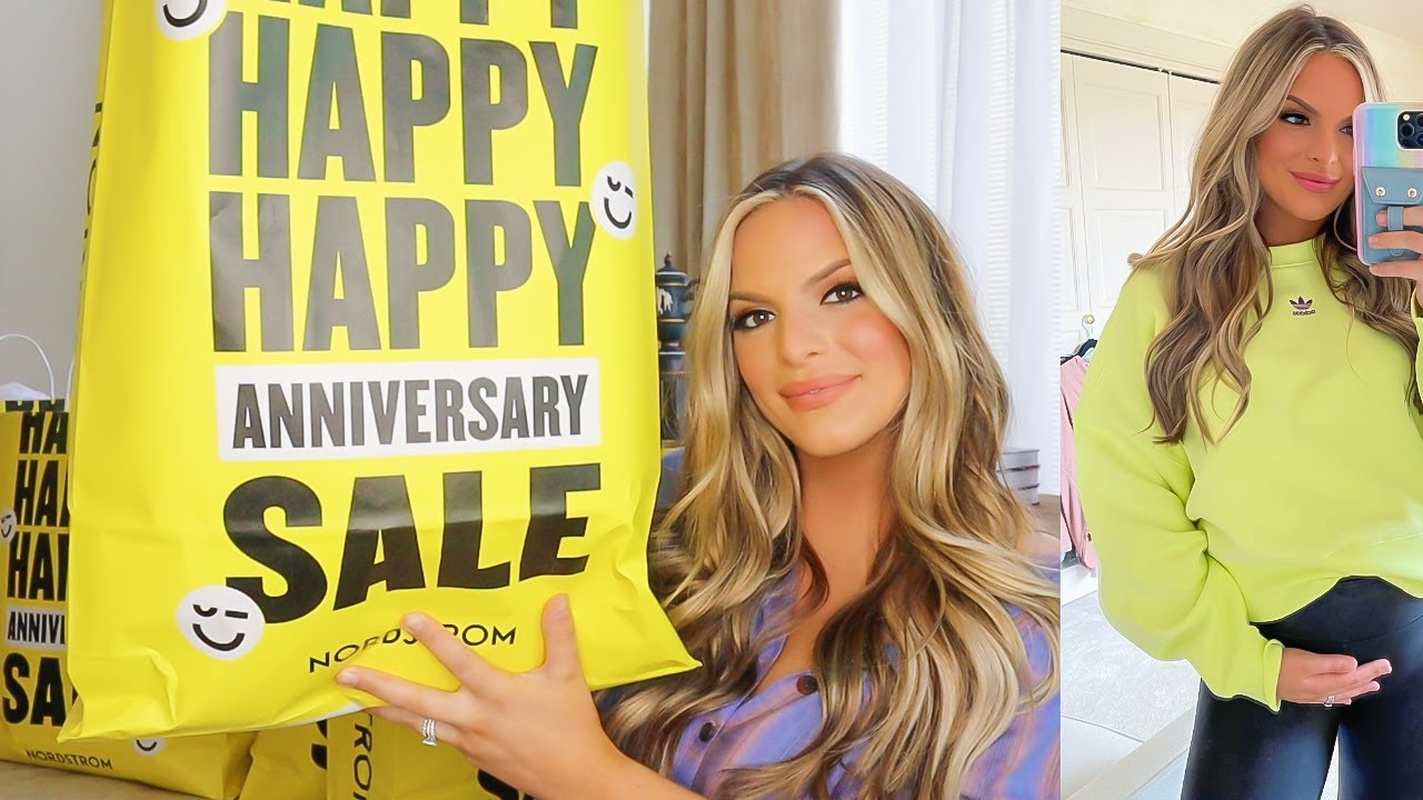 NORDSTROM ANNIVERSARY SALE 2021 HAUL! TRY ON + Pregnancy Friendly! | Casey Holmes