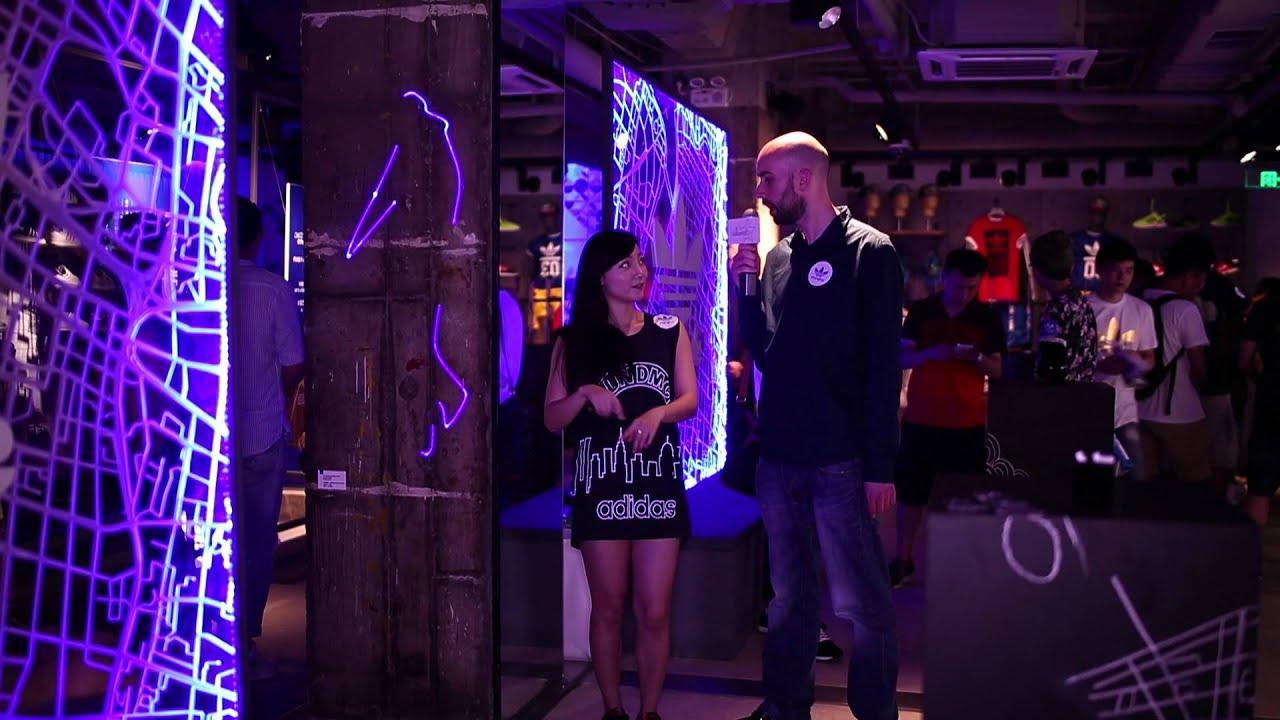 Island6 en las adidas Originals Shanghai Flagship Opening Party