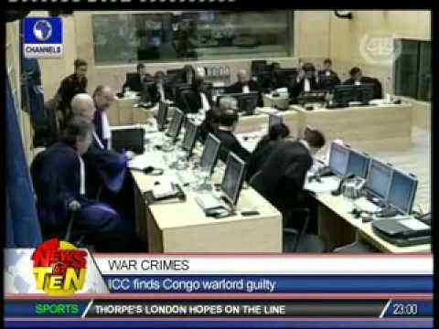 War Crimes:ICC finds Congo warlord guilty