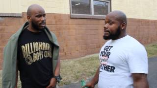 "E@stside Horn$ & ""E"" speaks on fake rappers claiming to be from Camden, N.J.(Continued...)"