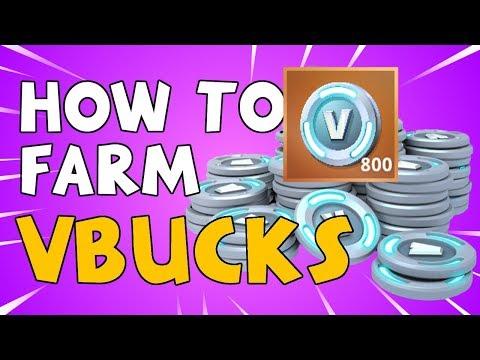 How to FARM VBUCKS Fast in Fortnite Save the World
