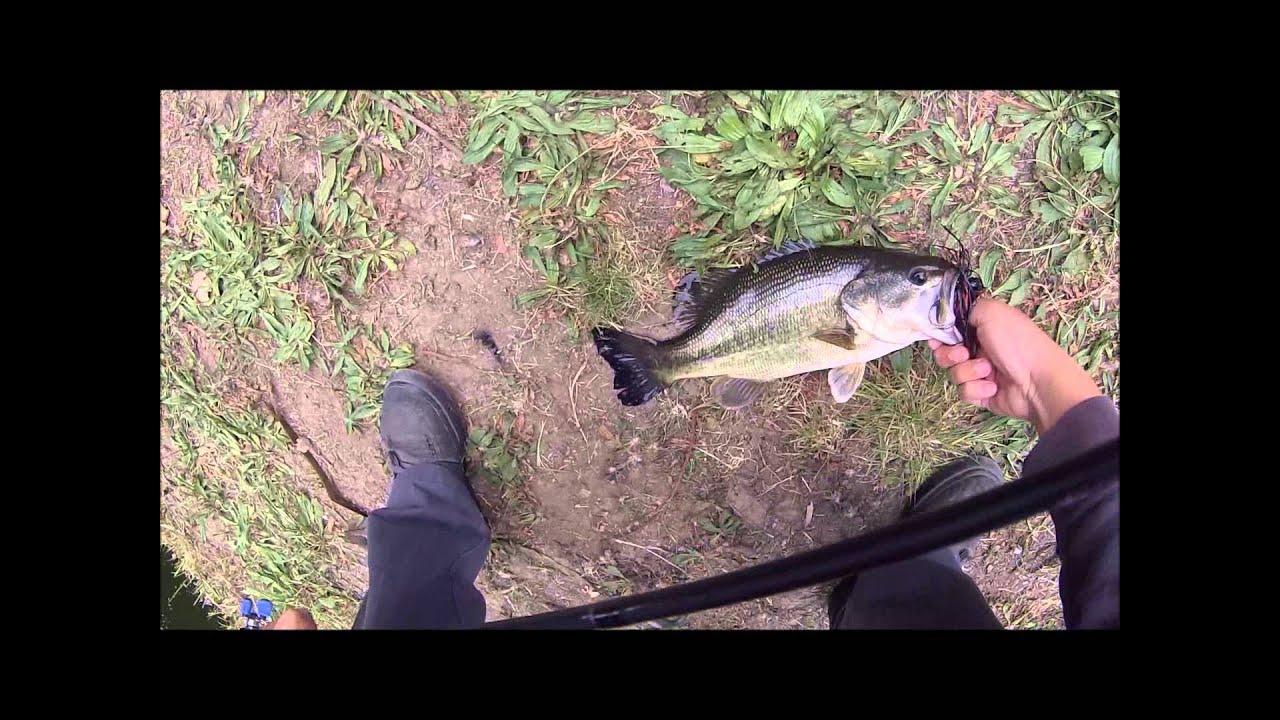 Lake temescal bed fishing in oakland youtube for Lake temescal fishing