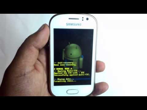 Samsung Galaxy Fame GT-S6810 Hard Reset