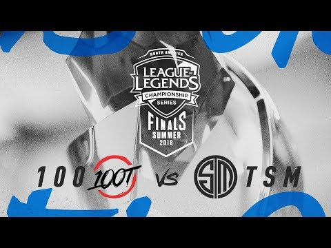 100 vs. TSM | Third Place Game 1 | NA LCS Summer Playoffs | 100 Thieves vs. TSM (2018)