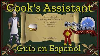 [OSRS] Cook's Assistant Quest (Español)