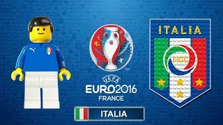 ITALIA Euro 2016 - Tutte le partite e i goal degli azzurri in Film Lego Calcio Euro 2016