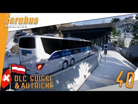 🚍Fernbus Coach Simulator | Découverte du DLC Suisse & Autriche + Setra S519HD cars du Rhône !