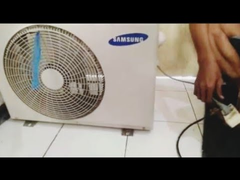 used outdoor samsung air conditioning fan, without condenser coil