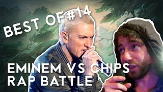 BEST OF LOL #14 - Eminem vs Chips Rap Battle - League of Legends