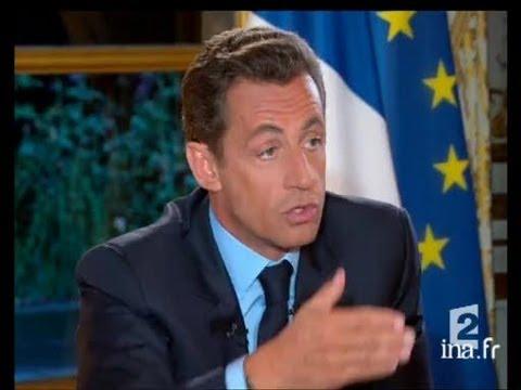 [Interview du Président de la République Monsieur Nicolas Sarkozy]