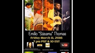 Garifuna Music & Talk With DJ Labuga Presents Emilio Sàsamu Thomas