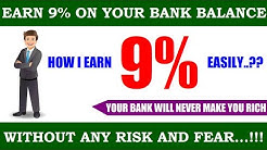 Risk  Fix! | Earn 9% On Your Bank Balance