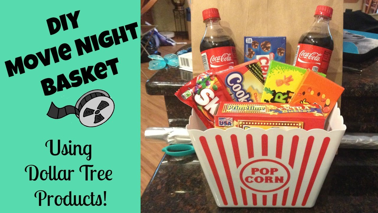 Dollar tree gift basket idea youtube negle Images