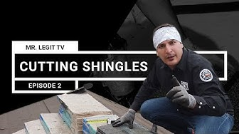 How to cut shingles | 3 easy steps on cutting books