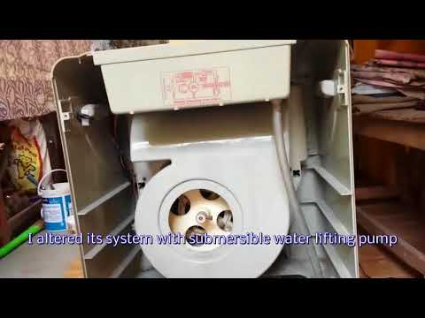 How to repair air cooler/ change cooling system/ install submersible water pump