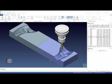 Toolpath mirroring | VISI 2018 R2