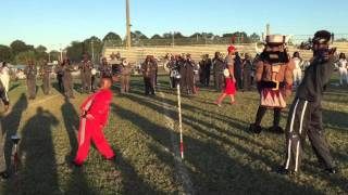 Raines Band vs Ribault Band -5th Quarter 2015