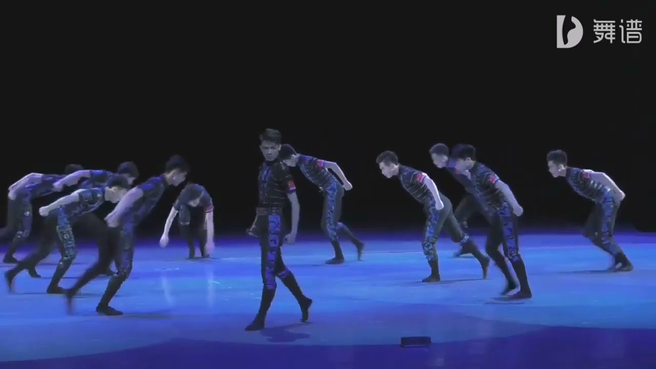 [Luo Yizhou] 罗一舟 - Lead Dancer - of boys group dance from school of  military culture -