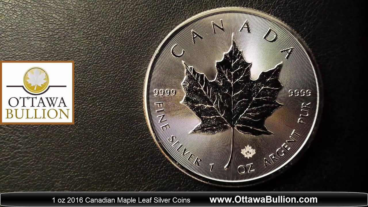 canadian maple leaf silver coins - 1280×720