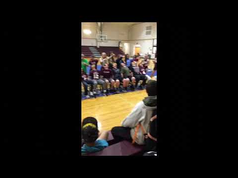 Donut eating contest Eufaula middle school