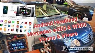 Android Headuint Mercedes Benz…