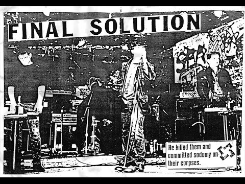 FINAL SOLUTION '(Pa)in Demons 7/12' C60 Cassette (FULL/COMPLETE)