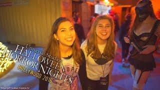Halloween Horror Nights 2016 at Universal Studios Hollywood