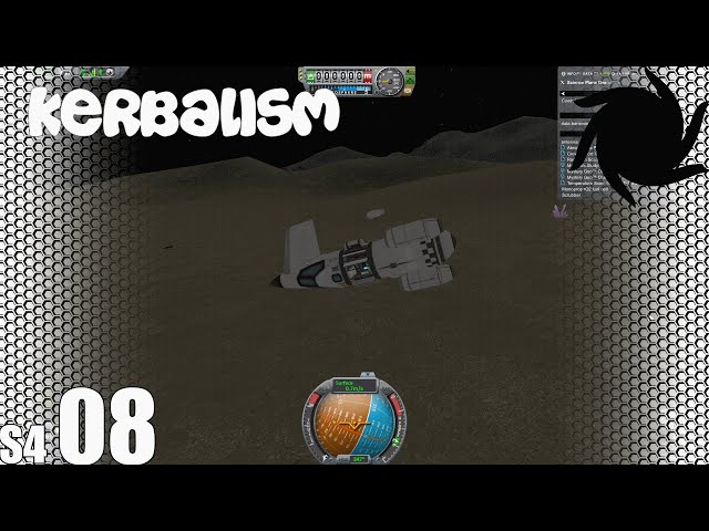 Kerbalism - S04E08 - Science, and How Not to Land a Plane