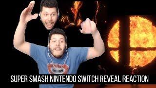 Super Smash Bros. Nintendo Switch REVEAL REACTION! Nintendo direct! Live