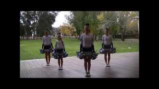 Learn a new pom pom routine - Dances for children
