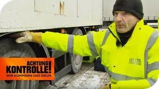 LKW Kontrolle: Seitenlage und schiefen Reifen! TEIL 1 | Achtung Kontrolle | kabel eins